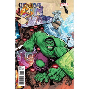 ORIGINAL SIN (2014) #2 VF/NM ARTHUR ADAMS INTERLOCKING VARIANT COVER HULK