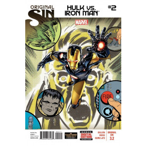 ORIGINAL SIN (2014) #3.2 VF/NM HULK VS IRON MAN