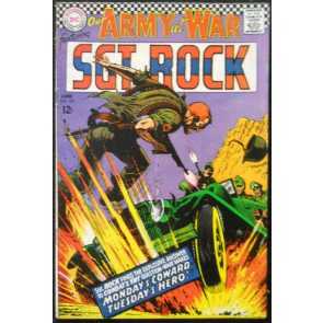 OUR ARMY OF WAR #181 FN- SGT ROCK