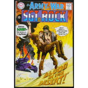 OUR ARMY OF WAR #193 FN SGT ROCK