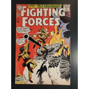 Our Fighting Forces #89 (1965) DC War VG 4.0 Gunner and Sarge Japanese tank|