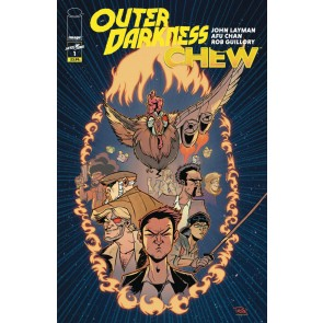 Outer Darkness/Chew (2020) #1 VF/NM Afu Chan Regular Cover Image Comics