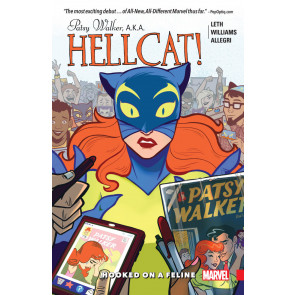 Patsy Walker AKA Hellcat Vol.1 (2016) TPB Hooked on a Feline collects 1-5 unread