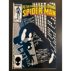 Peter Parker The Spectacular Spider-Man #101 1985 NM (9.4) classic Byrne cover |