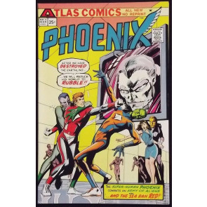 PHOENIX #2 VF/NM ATLAS SEABOARD