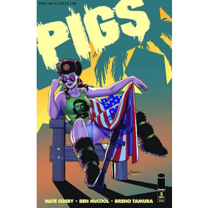 PIGS #2 3 4 5 VF/NM - NM SET 1ST PRINTS IMAGE COMICS SOLD OUT NATE COSBY