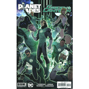Planet of the Apes/Green Lantern (2017) #3 of 6 VF/NM Dan Mora Boom! Studios