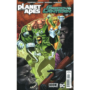 Planet of the Apes/Green Lantern (2017) #2 of 6 VF/NM Ethan Van Sciver Boom!