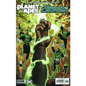 Planet of the Apes/Green Lantern (2017) #1 of 6 VF/NM Ethan Van Sciver Boom!