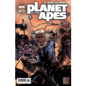 PLANET OF THE APES #4 NM COVER B BOOM! STUDIOS