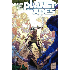 PLANET OF THE APES #6 NM COVER A 1ST PRINT BOOM! STUDIOS MOVIE TIE-IN