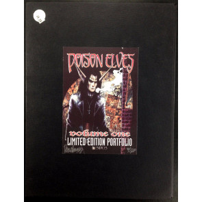 Poison Elves Limited Portfolio (1997) with all 8 prints signed by Drew Hayes