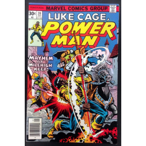 Power Man (1974) #39 VF+ (8.5) Luke Cage Hero for Hire