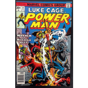 Power Man (1974) #39 VF (8.0) Luke Cage Hero for Hire