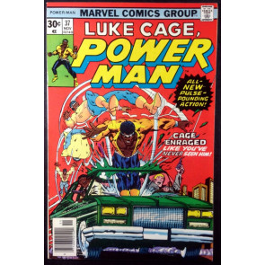 Power Man (1974) #37 VF (8.0) Luke Cage Hero for Hire