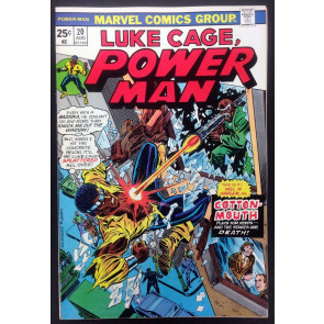 Power Man (1974) #20 VF (8.0) Cotton Mouth Luke Cage Hero for Hire