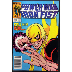 Power Man and Iron Fist (1978) #119 VF+ (8.5) Mark Jewler insert variant