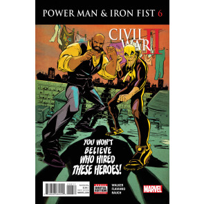 Power Man and Iron Fist (2016) #6 VF/NM