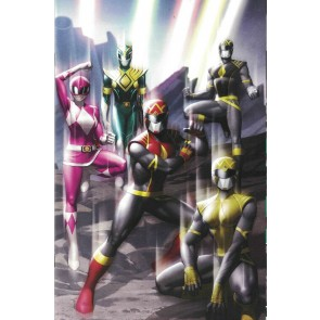 Power Rangers (2020) #1 NM Yoon One-Per-Store Wraparound Variant Cover Boom!