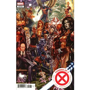 Powers of X (2019) #1 VF/NM-NM R. B. Silva Regular & Mark Brooks Variant Covers