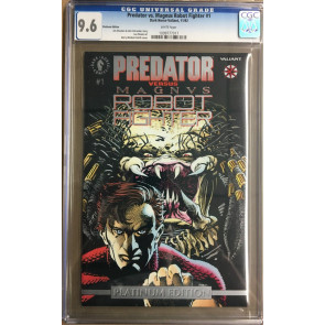 Predator vs Magnus Robert Fight (1992) #1 CGC 9.6 Platinum variant (1099777017)
