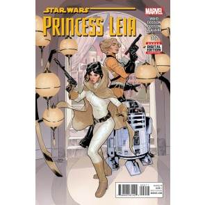 Princess Leia (2015) #'s 1 2 3 4 5 Complete VF/NM Set Terry Dodson Star Wars