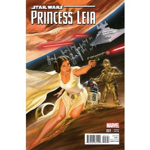 Princess Leia (2015) #1 VF/NM-NM 1:50 Alex Ross Variant Cover Star Wars