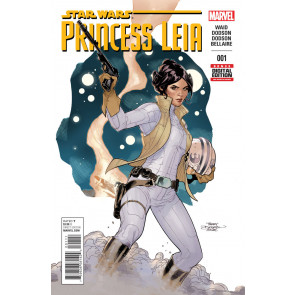 PRINCESS LEIA (2015) #1 VF/NM 1ST PRINTING STAR WARS MARVEL TERRY DODSON COVER