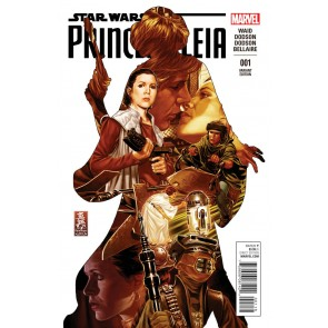 Princess Leia (2015) #1 VF/NM-NM 1:50 Mark Brooks Variant Cover Star Wars