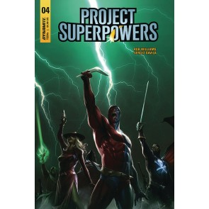 Project Superpowers: Chapter Three (2019) #4 Francesco Mattina Cover A Dynamite