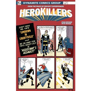 Project Superpowers: Hero Killers (2017) #3 VF/NM Dynamite