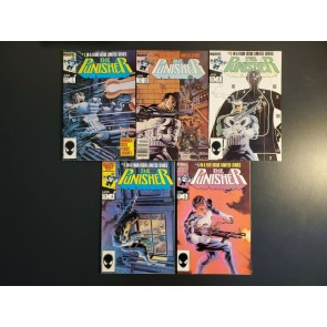 PUNISHER LIMITED SERIES FULL RUN SET NM- 1-5 1,2,3,4,5 CLASSIC MIKE ZECK COVERS|