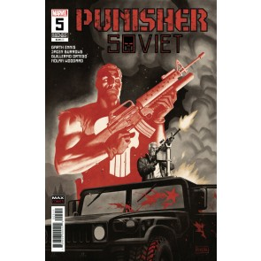 Punisher: Soviet (2019) #5 VF/NM Rivera Cover Garth Ennis