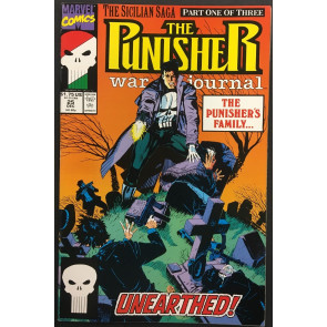 Punisher War Journal (1988) 25 26 27 VF+ complete 3 part The Sicilian Saga story