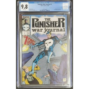 Punisher War Journal #1 1988 CGC 9.8 WP 1-40 Hi grade lot Jim Lee Signed 14&15~