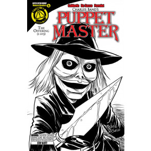 PUPPET MASTER (2015) #1 VF+ - VF/NM BLADE SKETCH VARIANT COVER ACTION LABS