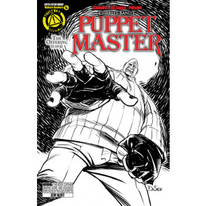 PUPPET MASTER (2015) #1 VF+ - VF/NM PINHEAD SKETCH VARIANT COVER ACTION LABS