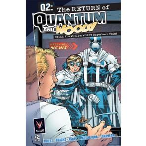 Q2: THE RETURN OF QUANTUM AND WOODY (2014) #2 VF/NM COVER A VALIANT COMICS