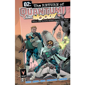 Q2: THE RETURN OF QUANTUM AND WOODY (2014) #3 VF/NM COVER A VALIANT COMICS