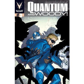 QUANTUM AND WOODY (2013) #3 VF+ COVER A VALIANT COMICS