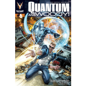 QUANTUM AND WOODY (2013) #6 VF/NM COVER A VALIANT COMICS