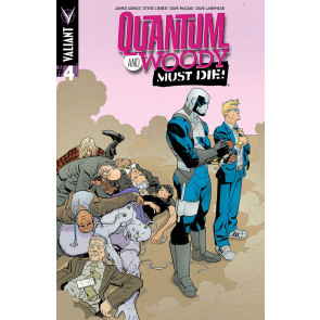 QUANTUM AND WOODY: MUST DIE (2014) #4 VF/NM COVER A VALIANT COMICS