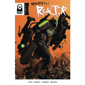Reactor (2017) #1 VF/NM Vault Comics