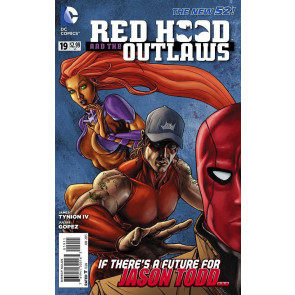 RED HOOD AND THE OUTLAWS #19  VF/NM THE NEW 52!