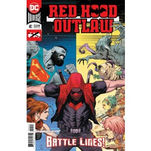 Red Hood: Outlaw (2018) #41 VF/NM Dan Mora Cover