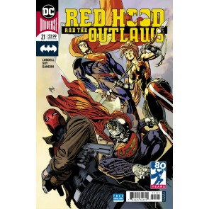 Red Hood & the Outlaws (2016) #21 VF/NM Guillem March Variant Cover