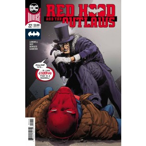 Red Hood & the Outlaws (2016) #22 VF/NM Trevor Hairsine Cover