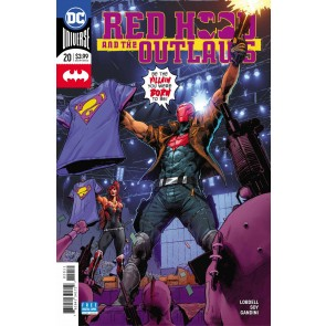 Red Hood & the Outlaws (2016) #20 VF/NM Trevor Hairsine Cover