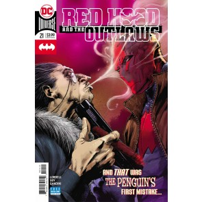 Red Hood & the Outlaws (2016) #21 VF/NM Trevor Hairsine Cover