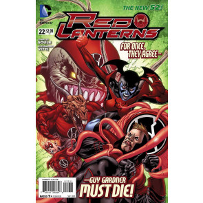 RED LANTERNS #22 NM THE NEW 52!